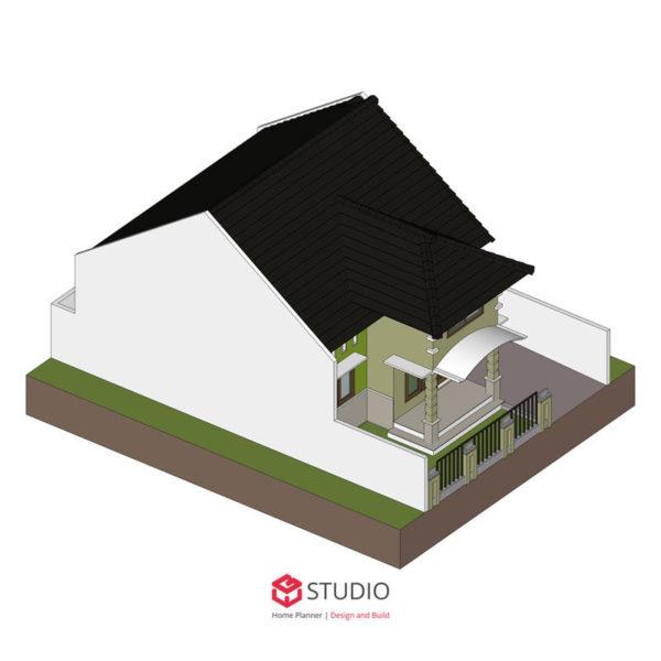 Jual Desain Rumah Type 70m2