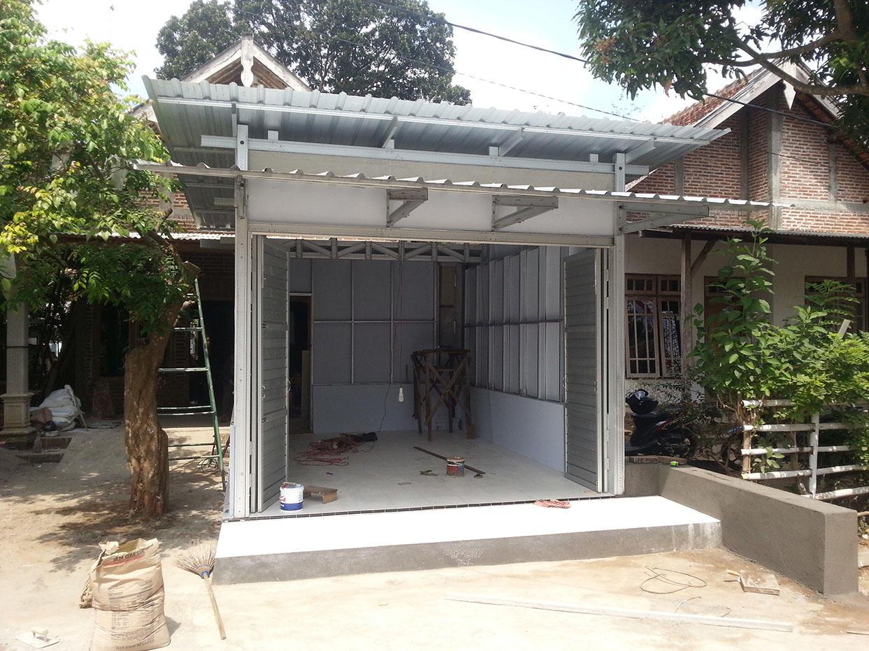 Inovasi Konstruksi Bangunan Kios