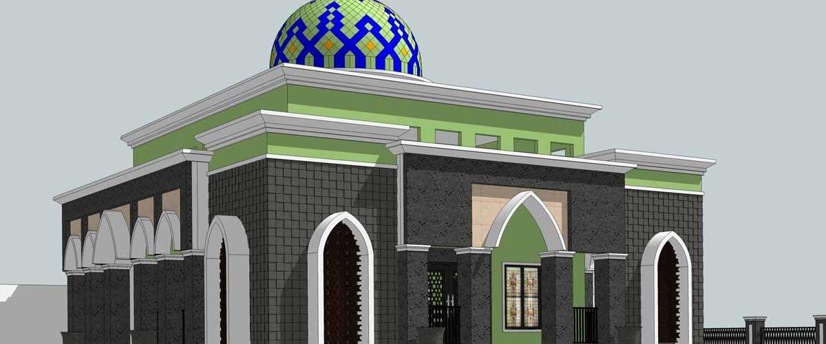 Desain Masjid atau Desain Mushola