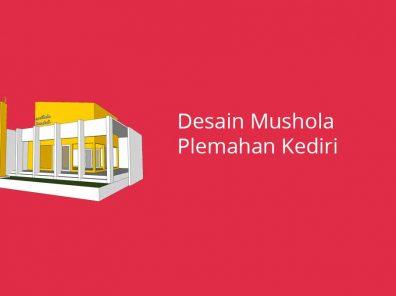 Desain Mushola Plemahan Kediri