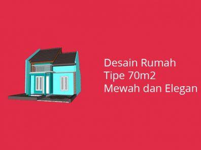 Desain Rumah Tipe 70 m2 di Lahan 126m2
